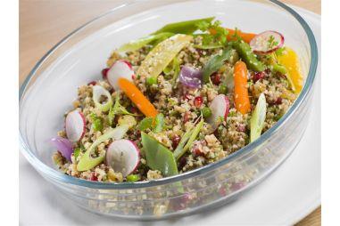Slaatje met quinoa