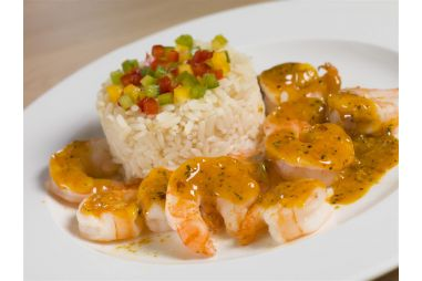 Scampi curry