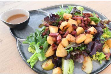 Salade appel spek